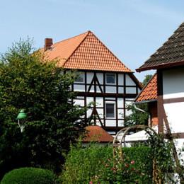 Historische Fachwerkhäuser in Lachem